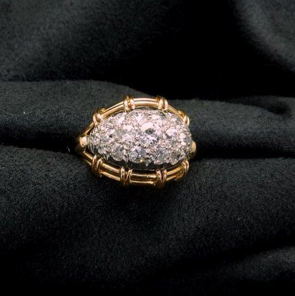 bague 1950 diamants